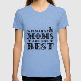 WEIMARANER MOMS T-shirt