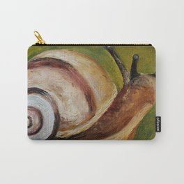 Art, oilpainting insect snail Carry-All Pouch