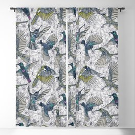 hum sun honey birds basalt Blackout Curtain