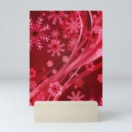 Christmas Snowflake Mini Art Print