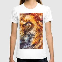 Lion Wild Portrait T-shirt