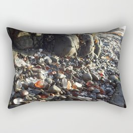 Glass beach Rectangular Pillow