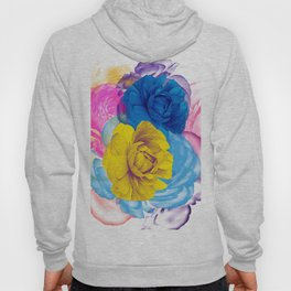 Floral Abstract 86 Hoody