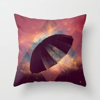 umbrella Throw Pillows featuring Umbrella by Mr and Mrs Quirynen