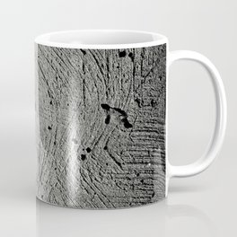Holes in the cement surface Coffee Mug