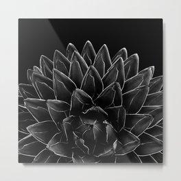 Black Agave Chic #1 #succulent #decor #art #society6 Art Print Metal Print