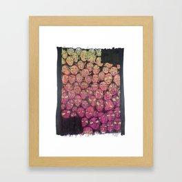 Crowd Framed Art Print