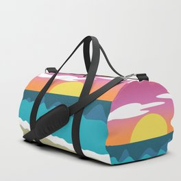 Beach Chakras Duffle Bag