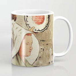 French belle epoque pottery expo advertising Coffee Mug