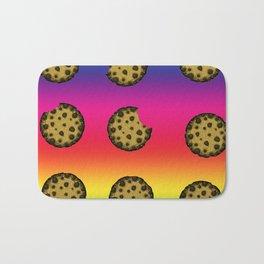 Psychedelic Rainbow Cookies Bath Mat