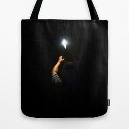 One night, one light Tote Bag