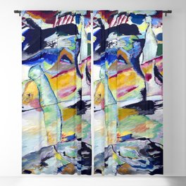 Wassily Kandinsky Campbell III Blackout Curtain