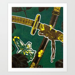 Rivalries: Han-dachi OG Art Print