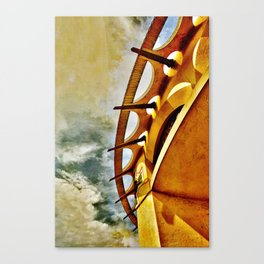 Greek To Me Canvas Print
