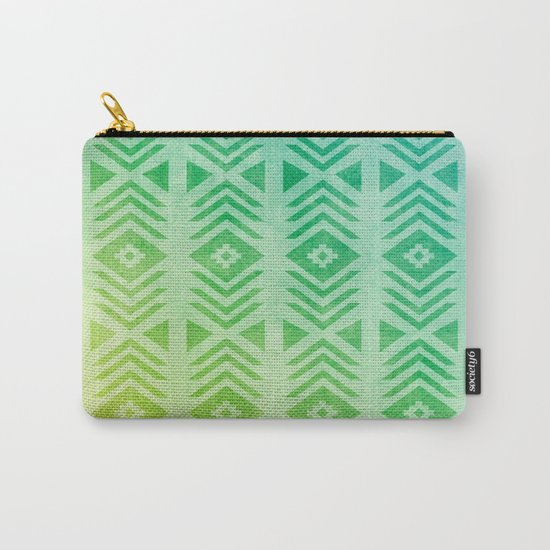 Aztec Pattern 01 Carry-All Pouch