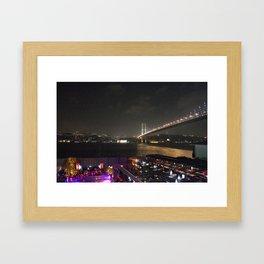 Istanbul Lights! Framed Art Print