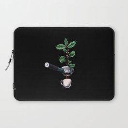 Coffee Plant Design Espresso Barista Laptop Sleeve