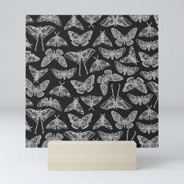 Lepidoptera Black & White Mini Art Print