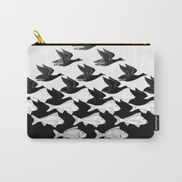 Maurits Cornelis Escher - Sky and Water 1 Carry-All Pouch