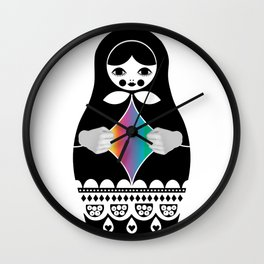 You Don't Know Me Wall Clock