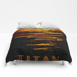 Titan - NASA Space Travel (Alternative) Comforters