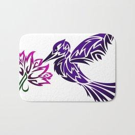 Hummingbird W/ Flower Bath Mat