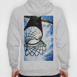 Basketball art spotlight vs 3 Hoody