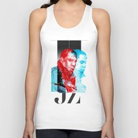 jay z Tank Tops featuring JAY-Z by michael pfister
