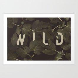 Wild I Art Print