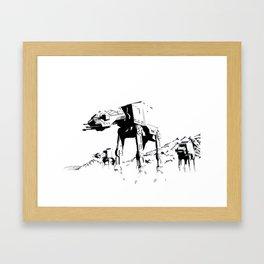 Imperial Walkers Framed Art Print