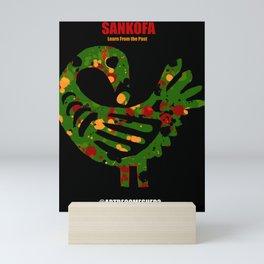 SANKOFA - Learn from the Past! Mini Art Print