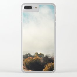 Fog in the Willows Clear iPhone Case