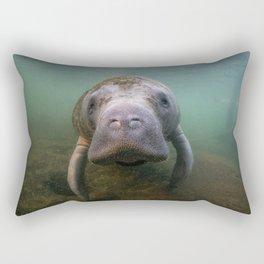 Manatee Rectangular Pillow