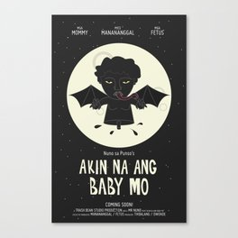 Akin Na Ang Baby Mo (Philippine Mythological Creatures Series) Canvas Print
