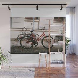 Red Bike Wall Mural