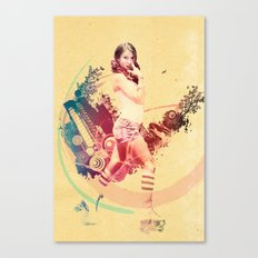 Summer Skating Jam Canvas Print