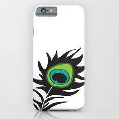 Teal Peacock iPhone 6s Slim Case