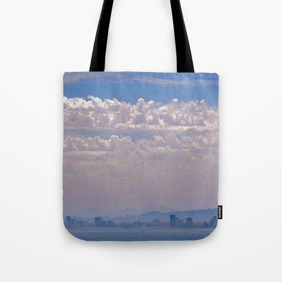 Smoky Sky Tote Bag