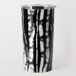 CURVY BIRCH TREE Travel Mug