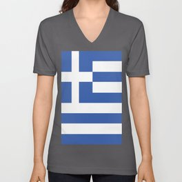 Greece Unisex V-Neck