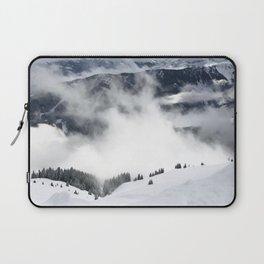 Winter Mountainscape Laptop Sleeve