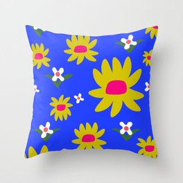 Frederick Floral Throw Pillow