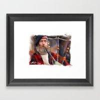 The Piper Framed Art Print