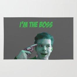 the boss Rug