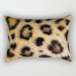 Leopard Skin Texture Art Rectangular Pillow