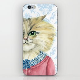 Vernonica Dressed for Luncheon iPhone Skin