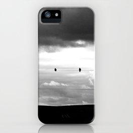 2 Birds - Electric love  iPhone Case