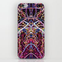 baphomet iPhone & iPod Skins featuring Baphomet 1 by Kevin Kolstad
