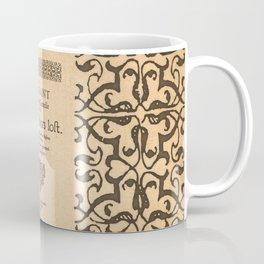 Shakespeare, Love labors lost. 1598. Coffee Mug