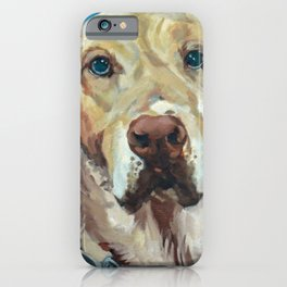 Golden Labrador retriever iPhone Case